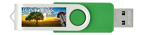 Lost Arts Radio USB Flash Drive