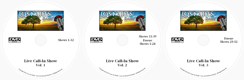 lostartsradio dvd set