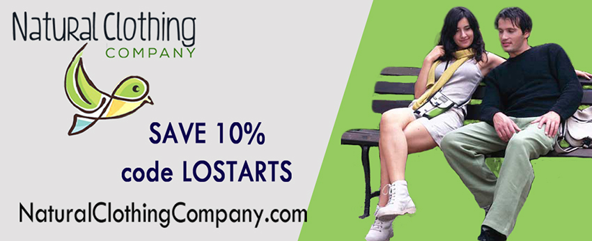Natural Clothing Company - LOSTARTS Discount Offer